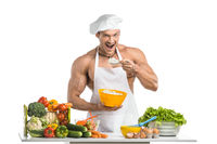 Cook bodybuilder