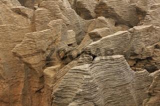 Unique shaped Pancake Rocks