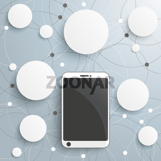 Smartphone Circles Networks PiAd