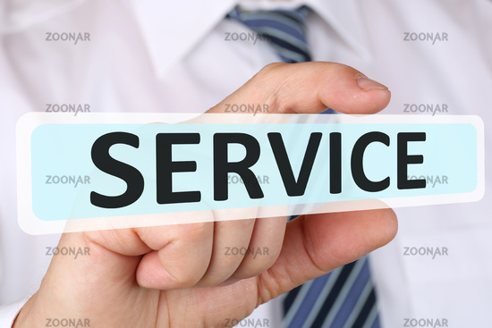 Business man concept with service customer service service