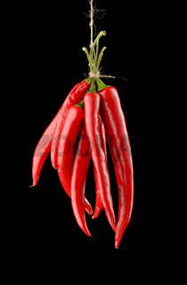 Hanged Chili Peppers