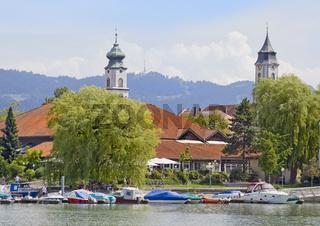 Inselhalle Lindau, St. Stephan und Münster