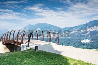 Bridge at Lake Garda