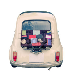 Small Vintage European Car