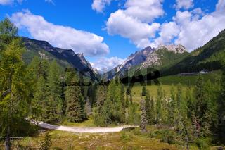 Sextner Dolomiten - Sexten Dolomites in Italy
