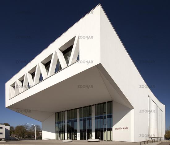 City Music School, Hamm, Ruhr Area, North Rhine-Westphalia, Germany, Europe