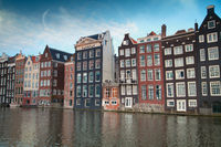 one of the most famous European city of Amsterdam. The capital of the Netherlands.