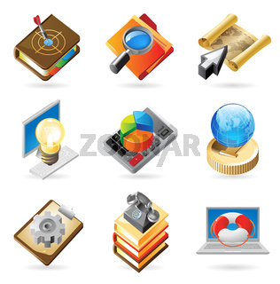 Icon concepts for work