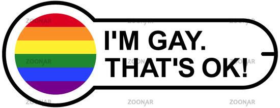 GAY OK Sticker