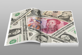 US Dollar und Renminbi   U.S. Dollar und Renminbi