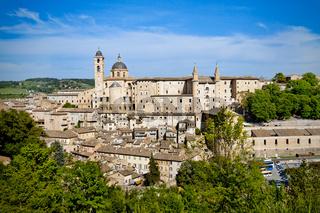Urbino city view, Italy