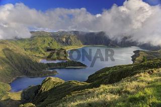 Lagoa do Fogo on San Miguel island of Azores