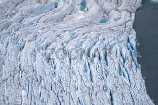 Arctic glacier. area Novaya Zemlya