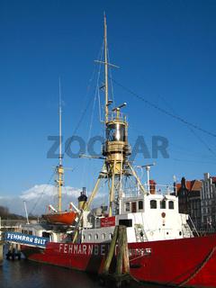 feuerschiff fehmarnbelt in luebeck