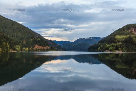Lake near North Cascades National Park Washington USA