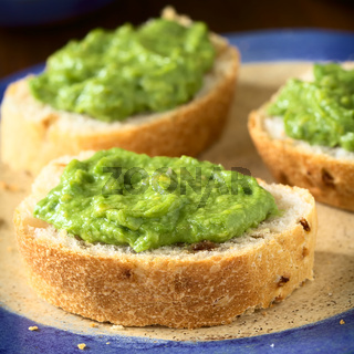 Avocado Cream on Bread