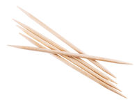 wooden toothpick isolated