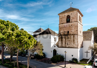 Church of the Imaculate Conception in Mijas