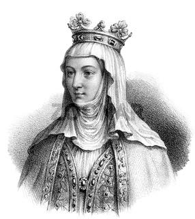 Clementia of Hungary, Clémence de Hongrie, 1293-1328, queen of France