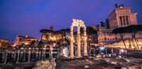 Rome, Italy: The Roman Forum and Old Town