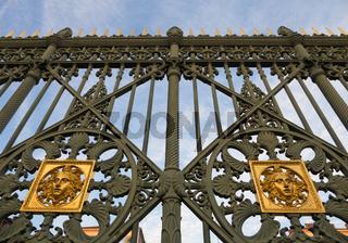 Royal Palace gate detail