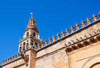 Mezquita Mosque Cathedral tower - Cordoba Spain