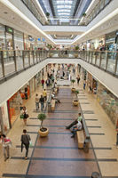 Shopping Mall in Krakow Poland