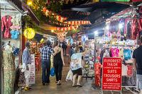 Night Market in Chinatown singapore