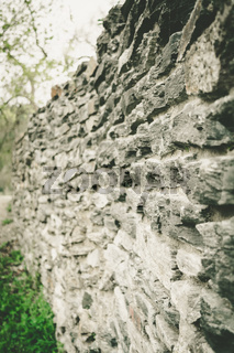 Stone Wall in closeup