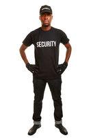 Sicherheitspersonal vom Wachschutz
