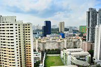 Soccer field, Singapore
