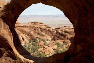 Double-O-Arch Arches NP USA