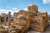 Panagia Chrysopolitissa Basilica in Paphos,Cyprus