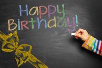 Happy Birthday! (bunt)