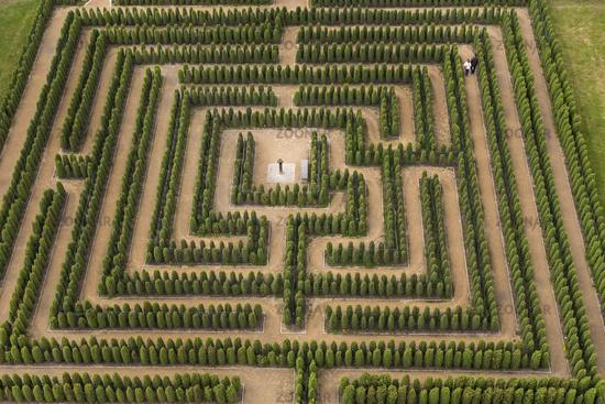 Labyrinth, Brandenburg, Germany, Europe