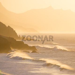 Pared beach, Fuerteventura, Canary Islands, Spain