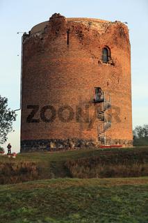 Burg Stolpe, Angermünde, Uckermark, Brandenburg