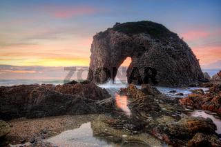 Horse Head Rock Australia sunrise