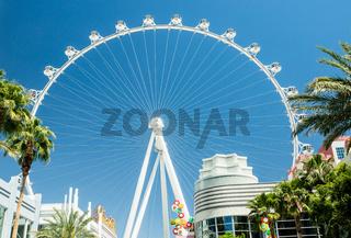 High Roller from LINQ promenade
