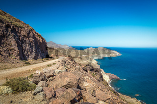 Coast at Cabo del Gata, Almeria, Spain