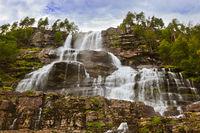 Tvinde Waterfall - Norway