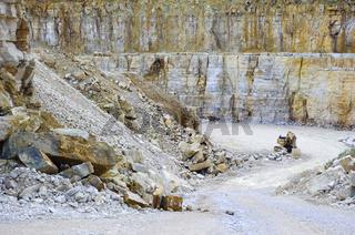 Steinbruch in Solnhofen
