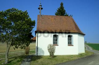 Josefkapelle bei Emeringen auf der Schwaebischen Alb