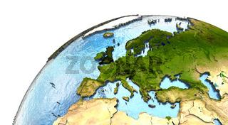 Europe on Earth