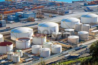 Gasspeicher und Container