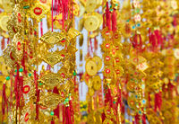 Tet (Vietnam New Year) gold red decorations