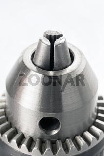 Drill head closeup detail