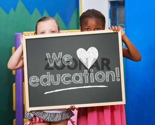 We love education!