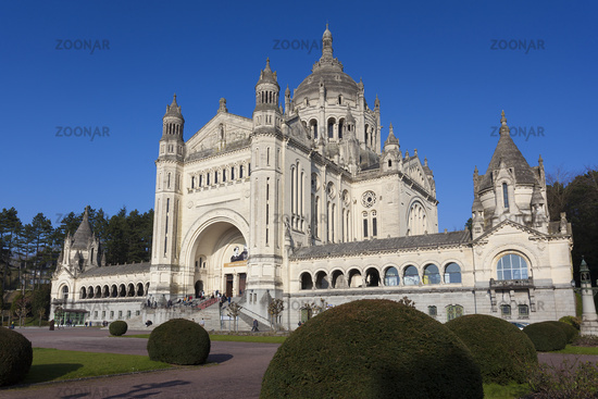 Basilica of Saint Therese, Lisieux, Normandy, France