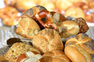 Backwaren vom Bäcker